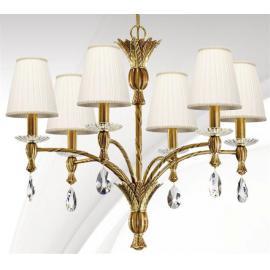 Svietidlo stropné závesné dekoratívne: 230V - 6xE27 - IP20