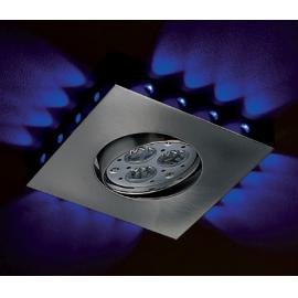 Svietidlo bodové - 230V - 10W + LED 16x0,06W - objímka: GU10 - IP20