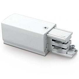 Napájacia svorkovnica pre 3.fázový koľajnicový systém: 230V/16A - ľavá - IP20