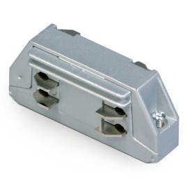 Napájač spojka 230V pre 3.fázový kolajnicový systém 230V - 16A  - ovál