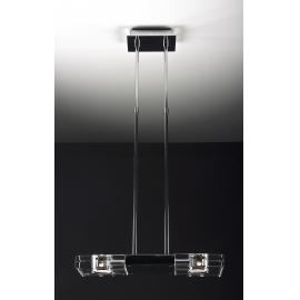Svietidlo stropné závesné - objímka: G9 - halogén max. 2x40W
