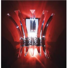 Svietidlo nástenné - objímka: G4 - halogén max. 3x20W
