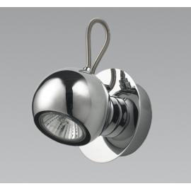 Svietidlo nástenné - objímka: GU10 - halogén 1x50W, kompakt 1x11W, Led 1x5W