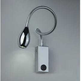 Svietidlo nástenné: 230V - LED 1x3W - 3200°K - IP20
