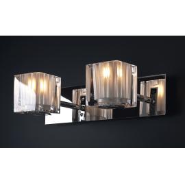 Svietidlo nástenné  - objímka: G9 - halogén 2x40W