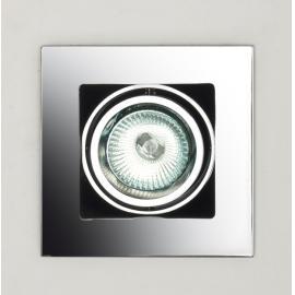 Svietidlo bodové - stropné podhľadové -  objímka: 1xGU5,3  - halogén 1x50W