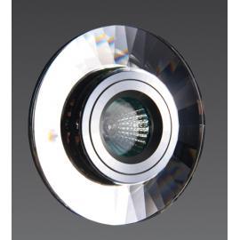 Svietidlo bodové - stropné podhľadové - objímka: 1xGU4 - halogén 1x35W