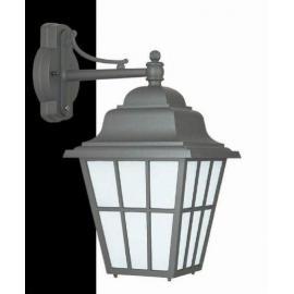 Svietidlo nástenné - objímka:1xE27- halogén 1x150W, kompakt 1x27W, LED 1x12W