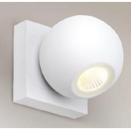 Svietidlo nástenné - LED - 230V - 1x4W - 3000K, 300LM