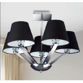 Svietidlo stropné závesné - objímka: E-27 - halogén max. 5x40W, kompakt max. 5x20W, LED max. 5x20W