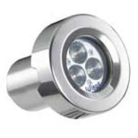 Svietidlo bazénové nástenné - svetelný zdroj: 3xLED 3W