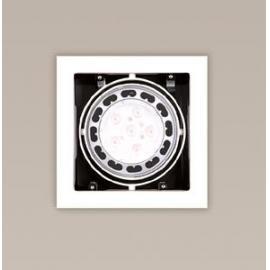 Svietidlo stropné podhľadové - svetelný zdroj: AR111 - 1x50W, 12V