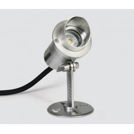 Svietidlo fontánové: 24V DC - LED1x3W - IP68