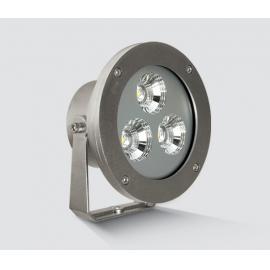 Svietidlo fontánové - bazénové/ 12W / LED / IP68