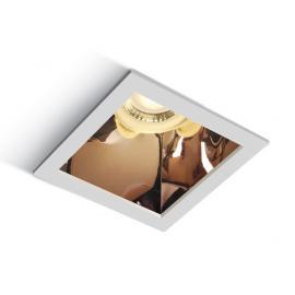 Svietidlo stropné podhľadové: 100/240V - GU10 1x10W - IP20
