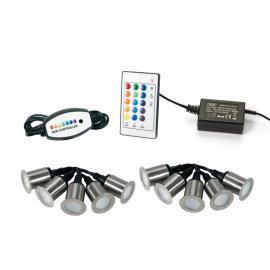 Svietidlo podlahové: 100-240V - LED10x0,2W - IP66