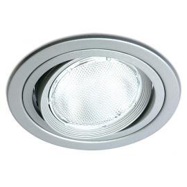 Svietidlo stropné podhľadové: 100-240V - LED 1xE27 - IP20