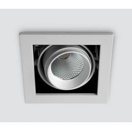 Svietidlo stropné podhľadové: 230V - LED 1x10W - IP20