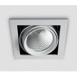Svietidlo stropné podhľadové: 230V - LED 1x20W - IP20