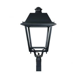 Svietidlo stožiarové historické (hlavica) - 100/240V - LED 60W - IP66