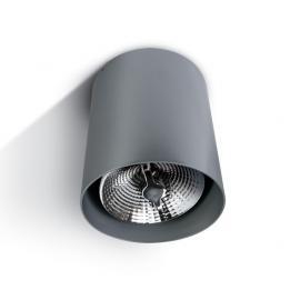 Svietidlo stropné prisadené: 100-240V - 1xE27 - IP20