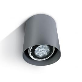 Svietidlo stropné prisadené: 100-240V - 1xGU10 - IP20