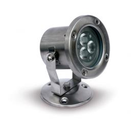 Svietidlo podlahové: 230V - LED3x1W - IP65