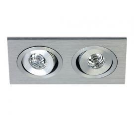 Svietidlo stropné podhľadové: 350mA - LED 2x1W - IP20