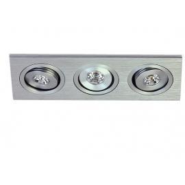 Svietidlo stropné podhľadové: 350mA - LED 3x1W - IP20