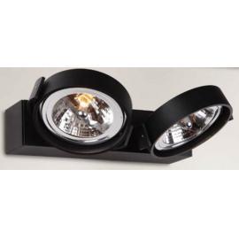 Svietidlo nástenné - objímka: QR111 - Svetelný zdroj: halogén max. 2x50W