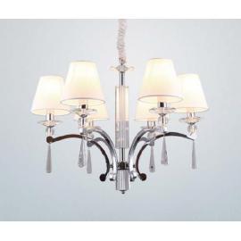 Svietidlo stropné závesné - objímka: E14 - halogén max. 6x40W, kompakt max. 6x20W, LED max. 6x20W