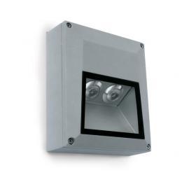 Svietidlo nástenné: 100-2400V - LED 2x1W - IP54