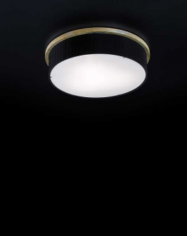 Svietidlo stropné prisadené - dekoračné: 230V - objímka 3xE-27 - IP20
