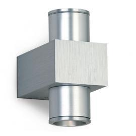 Svietidlo nástenné - LED - 230V - 2x1W - IP20