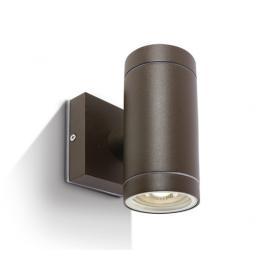 Svietidlo nástenné - 100-240V - 2xGU10 - IP54