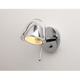 Svietidlo nástenné - objímka: 1xG9 - halogén 1x33W - LED 1x3W