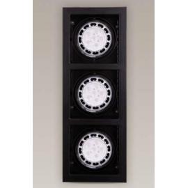 Svietidlo bodové - stropné podhľadové - AR111 - 12V - 3x50W