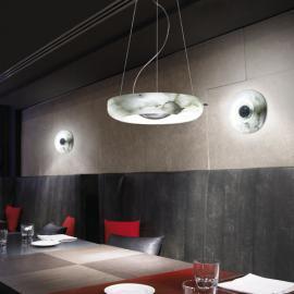 Svietidlo stropné závesné - objímka: 1xT5 2GX13, svetelný zdroj žiarivka T5 1x55W