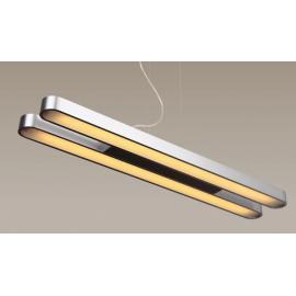 Svietidlo stropné závesné - objímka: 2xT5 - lineárna žiarivka. 2x21W