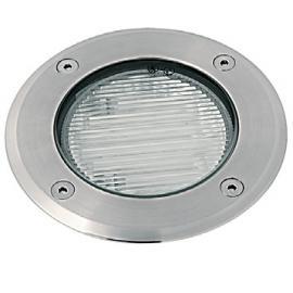 Svietidlo podlahové - 230V - 9W - objímka: GX53 - IP67 - nerez