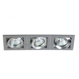 Svietidlo stropné podhľadové: 12V - 3xGU5,3 - IP20