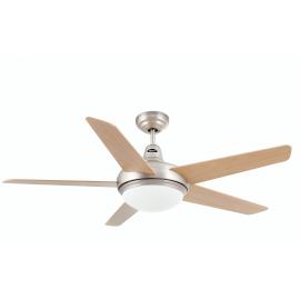 Svietidlo stropné ventilátorové, dialkové ovládanie - objímka: 2xE27 40W, IP20