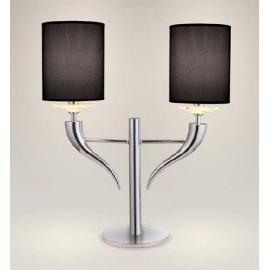 Svietidlo stolové - objímka: E14 - halogén max. 2x40W, kompakt max. 2x20W, LED max. 2x20W