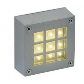 Svietidlo stropné LED - 230V - 16x0,1W - IP54