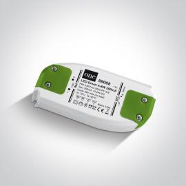NAPÁJACÍ ZDROJ PRE - LED: 230V/350mA - 4/8W - IP20