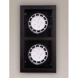 Svietidlo bodové - stropné podhľadové - AR111 - 12V - 2x50W