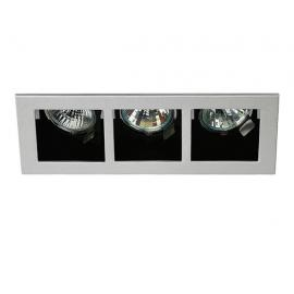Svietidlo bodové - 12V - 3x50W - MR16 - objímka: 3xGU5,3 - IP20